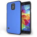 Чехол Yotrix MetalCase для Samsung Galaxy S5 SM-G900 (синий, алюминиевый)