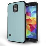 Чехол Yotrix MetalCase для Samsung Galaxy S5 SM-G900 (голубой, алюминиевый)