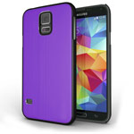 Чехол Yotrix MetalCase для Samsung Galaxy S5 SM-G900 (фиолетовый, алюминиевый)