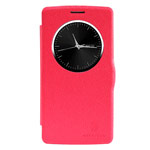 Чехол Nillkin Fresh Series Leather case для LG G3 Beat D724 (G3 mini) (красный, кожаный)