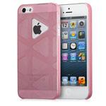 Чехол GGMM Play Case для Apple iPhone 5/5S (розовый, пластиковый)