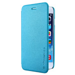 Чехол Nillkin Sparkle Leather Case для Apple iPhone 6 (голубой, кожаный)