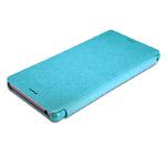 Чехол Nillkin Sparkle Leather Case для Sony Xperia Z3 L55t (голубой, кожаный)