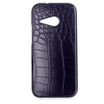 Чехол Yotrix CrocodileCase для HTC One mini 2 (HTC M8 mini) (черный, кожаный)