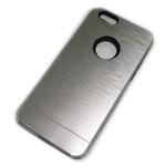 Чехол Yotrix MetalCase Silicone для Apple iPhone 6 (серебристый, алюминиевый)