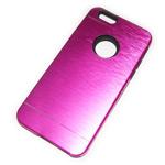 Чехол Yotrix MetalCase Silicone для Apple iPhone 6 (малиновый, алюминиевый)