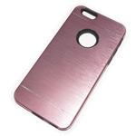 Чехол Yotrix MetalCase Silicone для Apple iPhone 6 (розовый, алюминиевый)