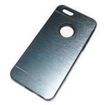Чехол Yotrix MetalCase Silicone для Apple iPhone 6 (темно-серый, алюминиевый)