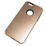 Чехол Yotrix MetalCase Silicone для Apple iPhone 6 (золотистый, алюминиевый)