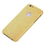 Чехол Yotrix ThinLeather Snake case для Apple iPhone 6 (золотистый, кожаный)