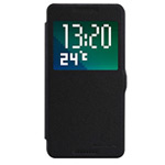 Чехол Nillkin Fresh Series Leather case для HTC Desire 820 (черный, кожаный)