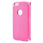 Чехол Nillkin Sparkle Leather Case для Apple iPhone 6 plus (розовый, кожаный)
