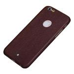 Чехол Yotrix ThinLeather Snake case для Apple iPhone 6 plus (коричневый, кожаный)