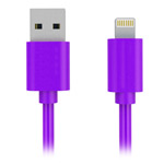 USB-кабель Yotrix ProSync универсальный (Lightning, 1.5 метра, фиолетовый)