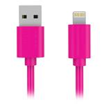 USB-кабель Yotrix ProSync универсальный (Lightning, 1.5 метра, розовый)