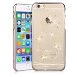 Чехол Comma Crystal Flora для Apple iPhone 6 plus (золотистый, пластиковый)