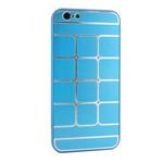 Чехол Yotrix MetalCase Matrix для Apple iPhone 6 (голубой, алюминиевый)
