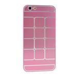 Чехол Yotrix MetalCase Matrix для Apple iPhone 6 (розовый, алюминиевый)