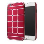 Чехол Yotrix MetalCase Matrix для Apple iPhone 6 (красный, алюминиевый)