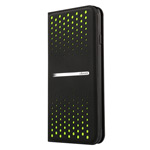 Чехол USAMS Groove Series для Apple iPhone 6 (черный/зеленый, кожаный)