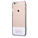 Чехол USAMS V-Plating Series для Apple iPhone 6 (серебристый, пластиковый)