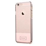 Чехол USAMS V-Plating Series для Apple iPhone 6 (золотистый, пластиковый)