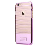 Чехол USAMS V-Plating Series для Apple iPhone 6 (розовый, пластиковый)
