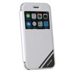 Чехол USAMS Viva Series для Apple iPhone 6 plus (белый, кожаный)