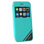 Чехол USAMS Viva Series для Apple iPhone 6 plus (зеленый, кожаный)