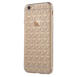 Чехол USAMS Gelin Series для Apple iPhone 6 plus (белый полупрозрачный, гелевый)