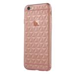 Чехол USAMS Gelin Series для Apple iPhone 6 plus (розовый полупрозрачный, гелевый)