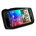 Чехол Xmart Professional для HTC Sensation (черный, силиконовый)