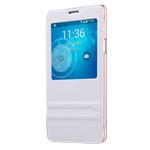 Чехол USAMS Merry Series для Samsung Galaxy Note 4 N910 (белый, кожаный)