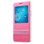 Чехол USAMS Merry Series для Samsung Galaxy Note 4 N910 (розовый, кожаный)