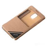 Чехол USAMS Viva Series для Samsung Galaxy Note 4 N910 (золотистый, кожаный)