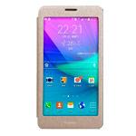 Чехол USAMS Touch Series для Samsung Galaxy Note 4 N910 (золотистый, кожаный)