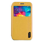 Чехол USAMS Merry Series для Samsung Galaxy Ace NXT G313H (золотистый, кожаный)