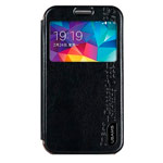 Чехол USAMS Merry Series для Samsung Galaxy Ace NXT G313H (черный, кожаный)