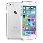 Чехол Devia Glimmer case для Apple iPhone 6 plus (серебристый, пластиковый)