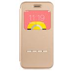 Чехол Devia Active case для Apple iPhone 6 plus (золотистый, кожаный)