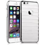 Чехол Vouni Parallel case для Apple iPhone 6 plus (серебристый, пластиковый)