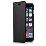 Чехол Comma Elite case для Apple iPhone 6 plus (черный, кожаный)
