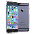 Чехол Devia Glimmer case для Apple iPhone 6 plus (черный, пластиковый)
