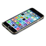 Чехол Devia Aluminum Bumper для Apple iPhone 6 plus (темно-серый, алюминиевый)