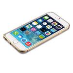 Чехол Devia Aluminum Bumper для Apple iPhone 6 plus (золотистый, алюминиевый)