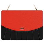 Чехол X-doria Delight Pleated case для Apple iPad mini 3 (черный/красный, кожаный)