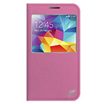 Чехол X-doria Dash Folio View для Samsung Galaxy Note 4 N910 (розовый, кожаный)