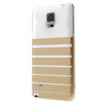 Чехол X-doria Engage Plus для Samsung Galaxy Note 4 N910 (золотистый, пластиковый)