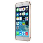 Чехол G-Case Ultra Thin Aluminium Bumper для Apple iPhone 6 (золотистый, алюминиевый)