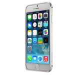 Чехол G-Case Ultra Thin Aluminium Bumper для Apple iPhone 6 (серебристый, алюминиевый)